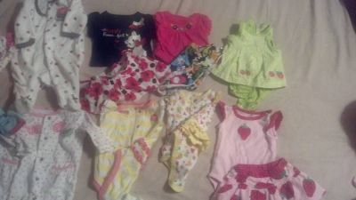 new born baby girl clothes (outfits)