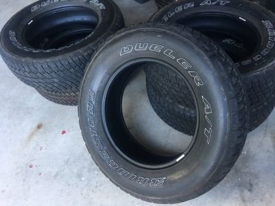 Bridgestone A/T tires (5)