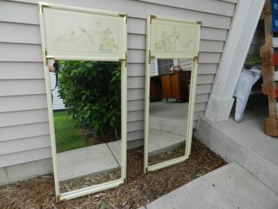 Asian wall framed mirrors