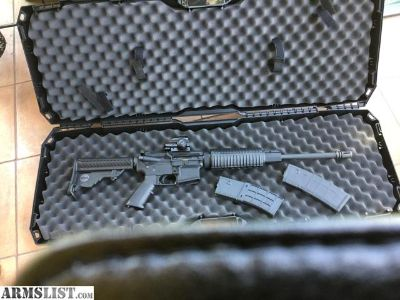 For Sale: 223/556 AR15 WITH HOLOGRAPHIC. SIGHT