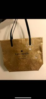 Kate spare glitter gold tote