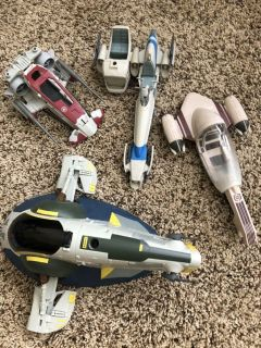 Star Wars action figure vehicle toys