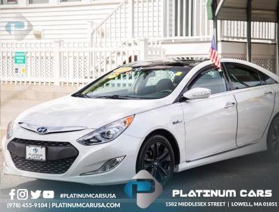 2015 Hyundai Sonata Hybrid 4dr Sdn Limited (White)