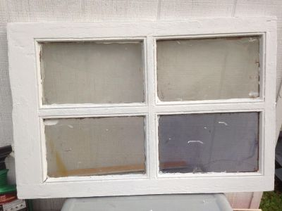 Wooden Window - Old Distressed