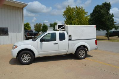 2015 Nissan Frontier (White)