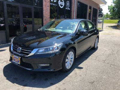 2015 Honda ACCORD SEDAN 4dr I4 CVT EX (Crystal Black Pearl)