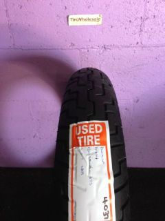 Purchase Used Dunlop 130/90ZR16 130/90/16 Front Motorcycle Tire D404 (4037) motorcycle in Hollywood, Florida, United States, for US $49.99