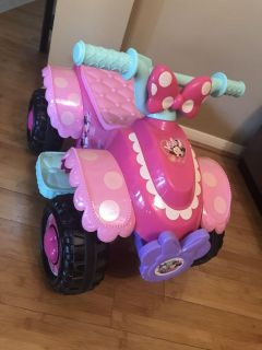 Disney Minnie Mouse Ride on Toy