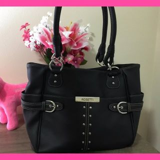 Like new Roseti Purse! Super cute accents! Stay organized with this one!
