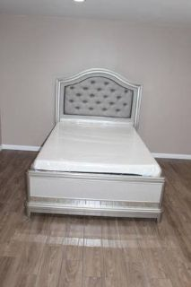 Full size Bed- Mattress included