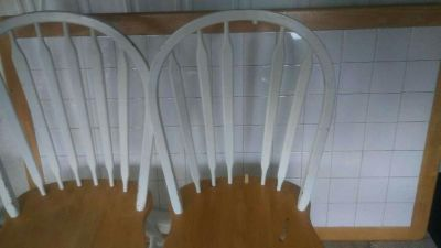 Tile kitchen table wth 6 chairs