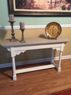 Entry table/ sofa table