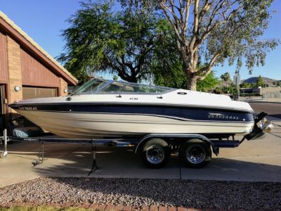 Chaparral 21' Boat 1995 and trailer