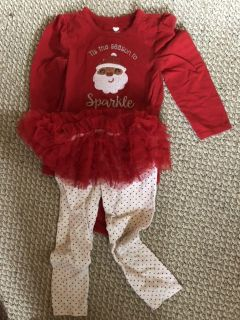 Christmas outfit 18-24 months