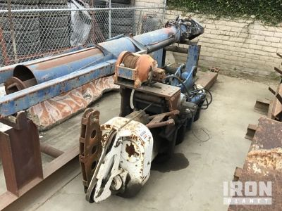 Bay Shore Systems Foundation Drill Excavator Attachment