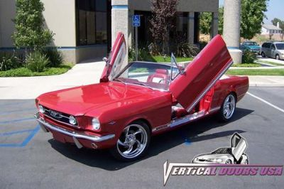 Purchase VDI FM6466 - 64-66 Ford Mustang Vertical Doors Conversion Kit motorcycle in Corona, California, US, for US $995.00