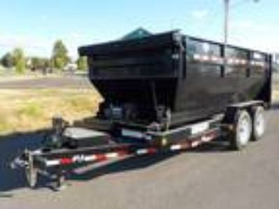 2019 PJ Trailers Dump DR 7' X 14' Roll Off'