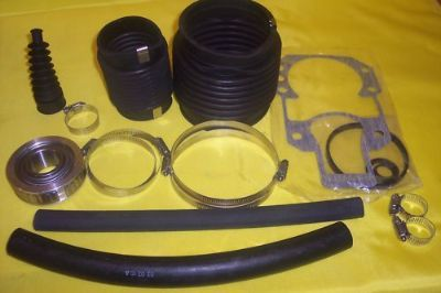 Sell Mercruiser Pre Alpha Bellows W Bearing & Drive Gasket & shift cable 1976 to 1982 motorcycle in Linden, Tennessee, United States