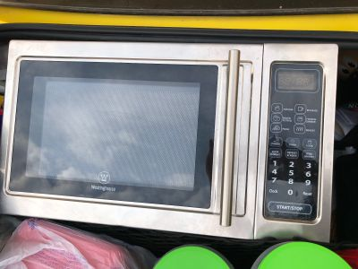 Great microwave! Works great. Good shape
