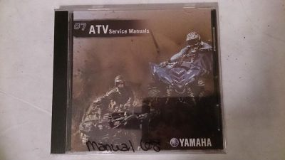 Buy 07 Yamaha ATV PC Disc Service Manual *NEW* motorcycle in Richlandtown, Pennsylvania, US, for US $19.99