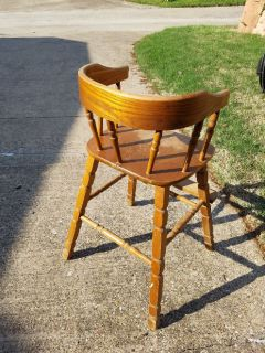 Pine Toddler Chair