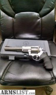 For Sale: GREAT NEW RUGER SUPER REDHAWK .454 CASULL SS 7.5 5505 45
