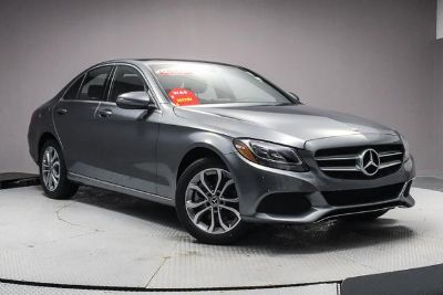 2018 Mercedes-Benz C-Class (Selenite Grey Metallic)
