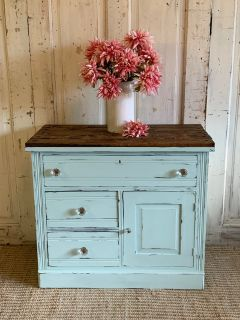 Antique Chest- Watery