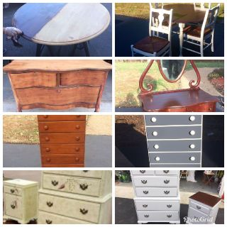 Repurpose, Refinish, Renew or Restore and Reuse! Above Are Before And After Pictures .