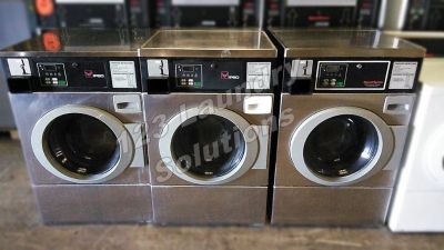 Coin Operated Stainless Steel Ipso Horizon Front Load Washer 120v 60Hz 9.8AMP BFNBEFSP11​1TN01 Coin