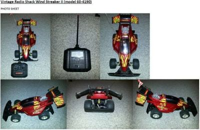 RC radio control car -Wind Streaker II