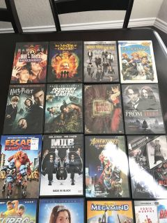 Movie DVD and TV series collection