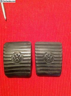 Oem T3 brake/clutch pedal covers