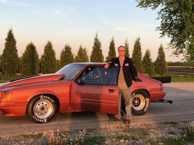 85 mustang, legal X275 car