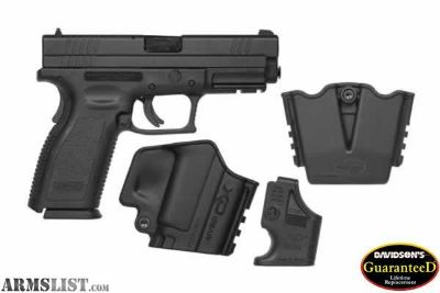 For Sale: Springfield XD 40 s&w NEVER FIRED