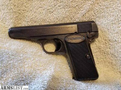 For Sale: Browning 1910/55 .380 Semi auto