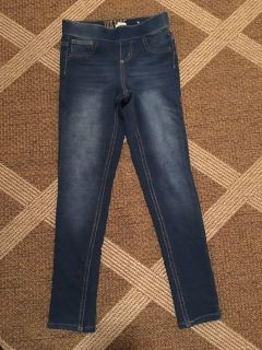 Justice girls jeans 8