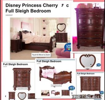 Disney Collection Bedroom Set Including Mattress