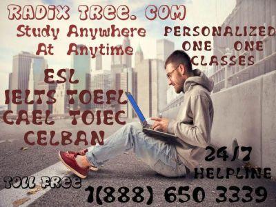 ONLINE IELTS, TOEFL, CELPIP, CELBAN PREPARATION