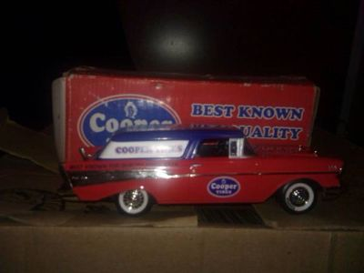 2 cooper tire model 1957 chevy bel air nomad in box