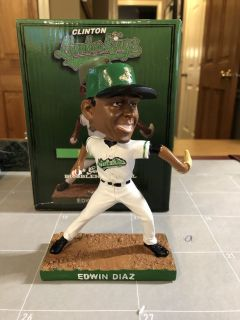 Edwin Diaz Bobblehead - Clinton LumberKings - New in Box