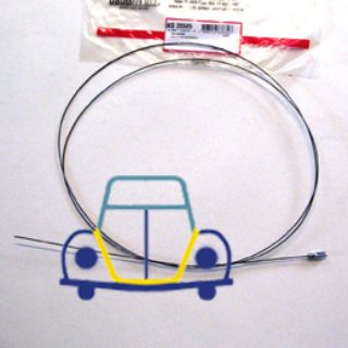 Bug/Ghia Hood Release Cable, 1940 mm, 68-79
