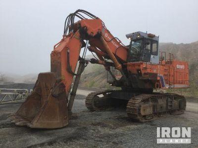 Hitachi EX1100 Front Shovel