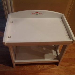 AMERICAN GIRL BITTY BABY RETIRED CHANGING TABLE for dolls