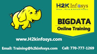 BigData Online Training Course in USA