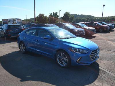 2017 Hyundai Elantra Limited (Electric Blue Metallic)