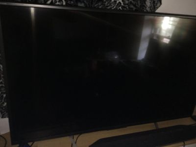 "SONY 4-K Smart 55"" TV With Remote"