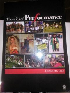 $40 OBO Theories of Performance Textbook - LIKE NEW