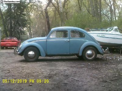 62 VW Bug, Complete car with Owners manuals.