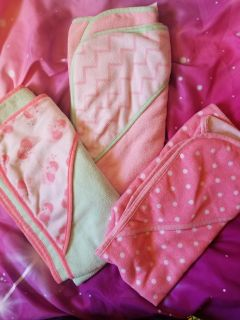 3 baby towels